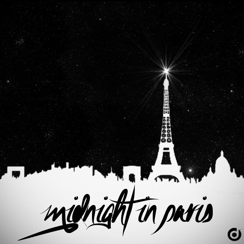 Midnight In Paris Illustration Graphic Design Pinterest